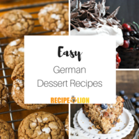9 Easy German Dessert Recipes