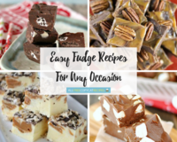 30+ Easy Fudge Recipes for Any Occasion
