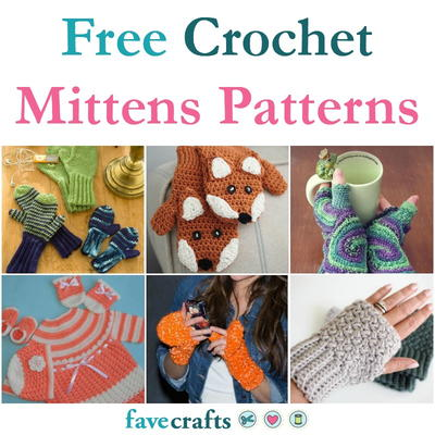 Free Crochet Mittens Patterns
