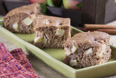 Apple-Harvest Spice Cake