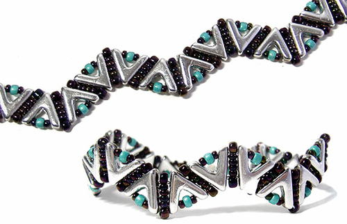 Chic and Sophisticated Beaded Bracelet