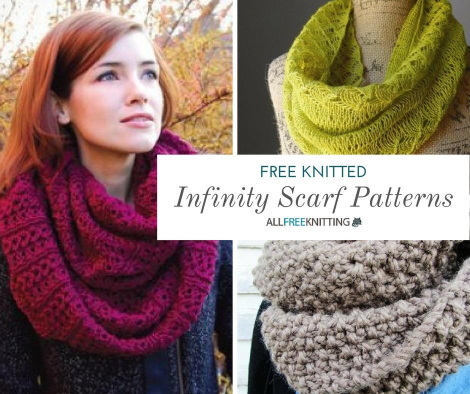 40+ Infinity Scarf Patterns You'll Love | AllFreeKnitting.com