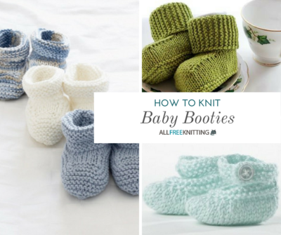 How To Knit Baby Booties Beginner