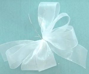 Quick and Easy Wired Ribbon Bow Tutorial