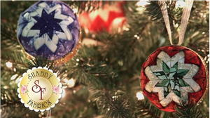 No Sew Quilted Christmas Ornament Favecrafts Com
