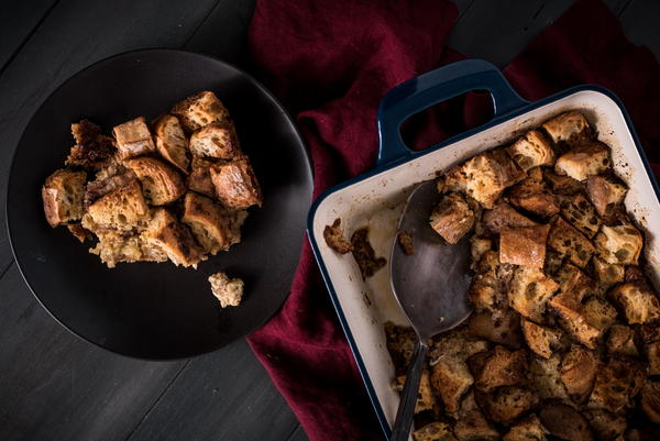 Vintage Bread Pudding