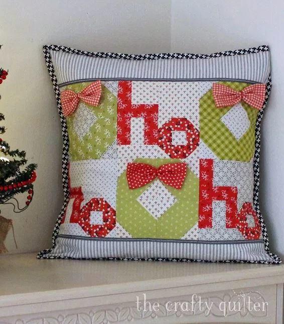 Ho Ho Ho Christmas Pillow Favequilts Com