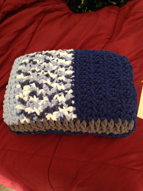 Blue Dreams Toddler Blanket/Pillow