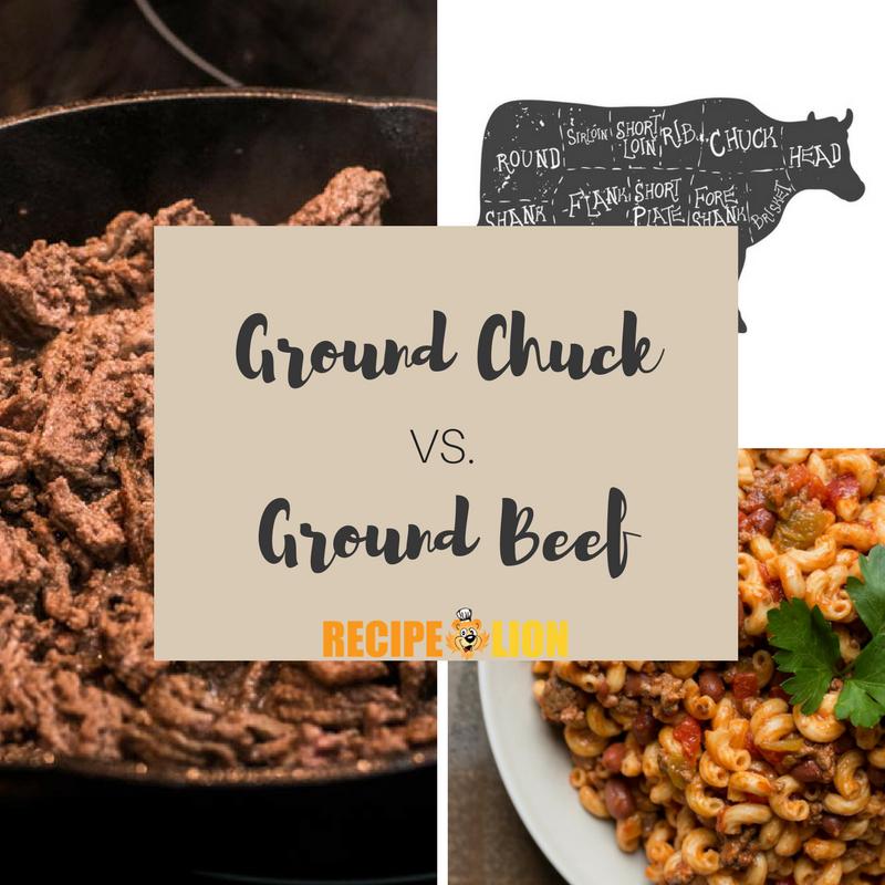 Ground Chuck Vs Ground Beef Recipelion Com
