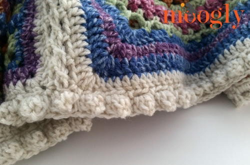 Easy Popcorn Stitch Border