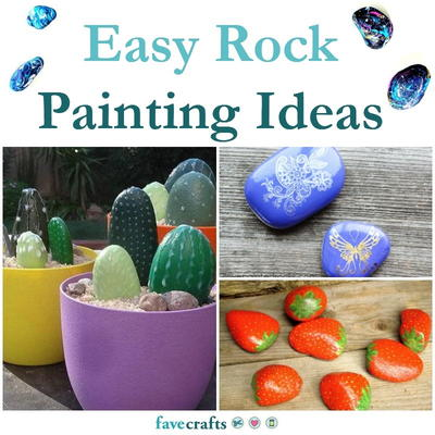 16 Easy Rock Painting Ideas for Beginners