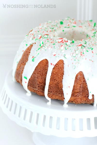 White Hot Chocolate Peppermint Bundt