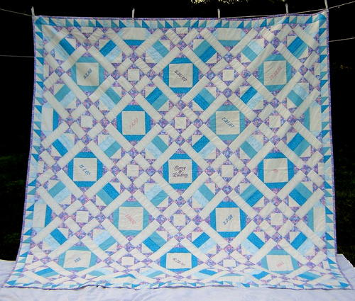Warm Winter Wedding Quilt Pattern