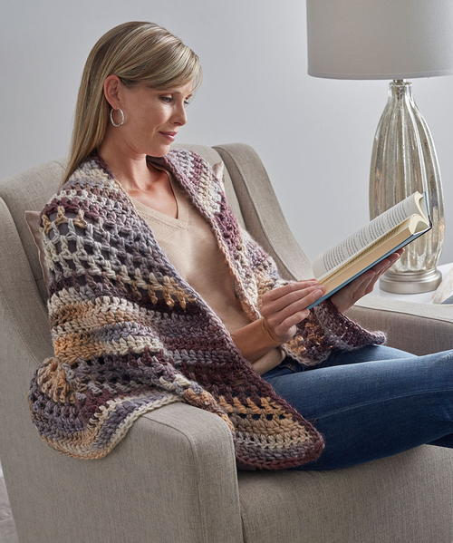Wrapture Free Crochet Shawl Pattern