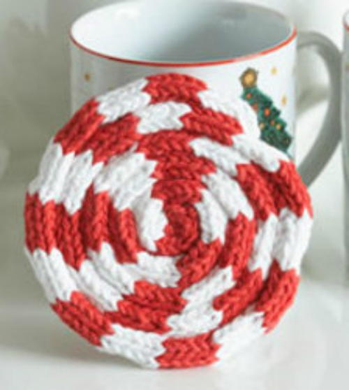 Peppermint Drink Coaster