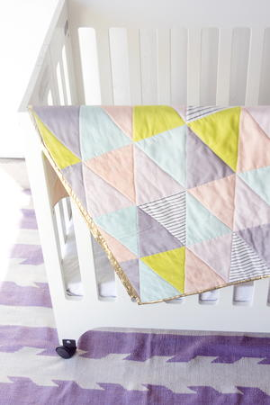One-Hour Triangle Quilt