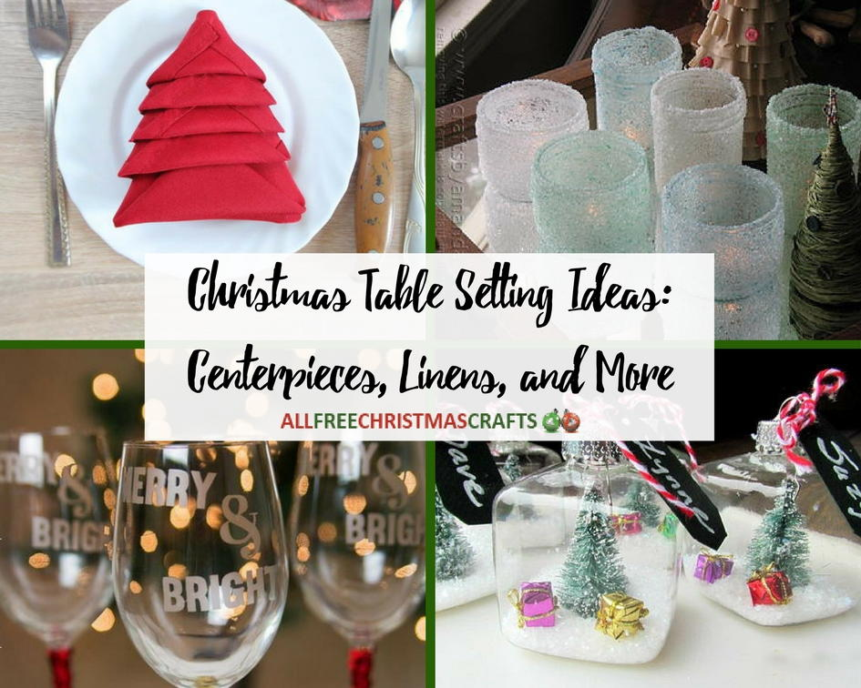 40+ Christmas Table Setting Ideas: Centerpieces, Linens