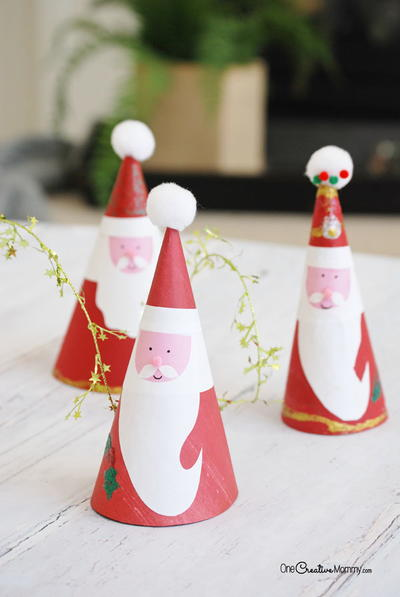 Charming Kids Santa Claus Craft Allfreeholidaycrafts Com