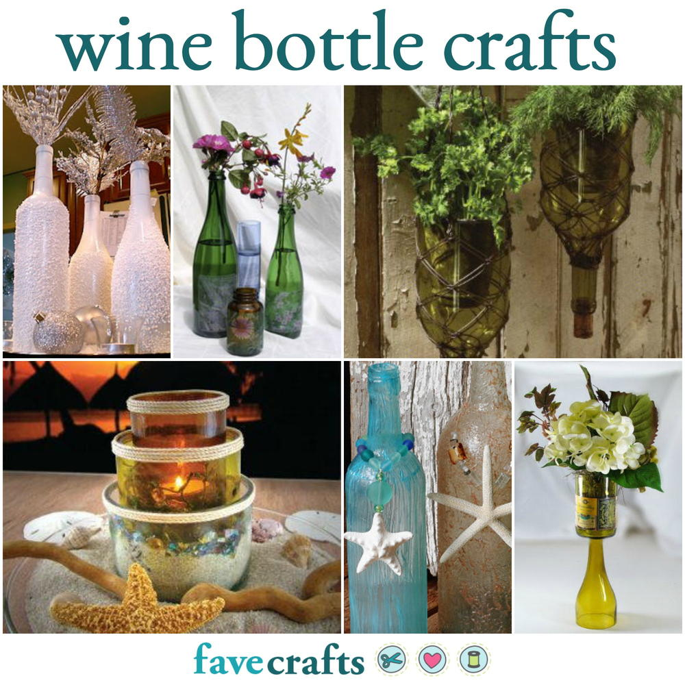 craft ideas for the home 30 things to do with wine bottles favecrafts 6253