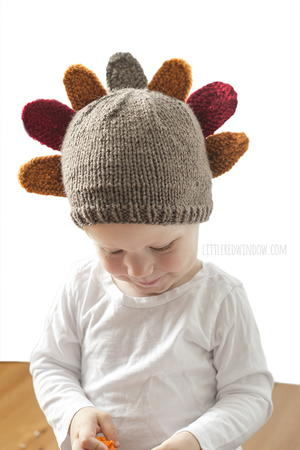 Thanksgiving Gobbler Knit Hat
