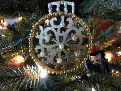 DIY Ornaments with Laser Cut Wood