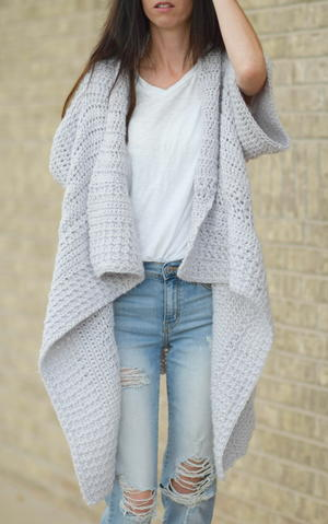 56 Easy Crochet Cardigan Patterns Allfreecrochetcom