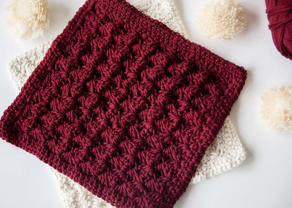 Crochet Blanket Many Stitches