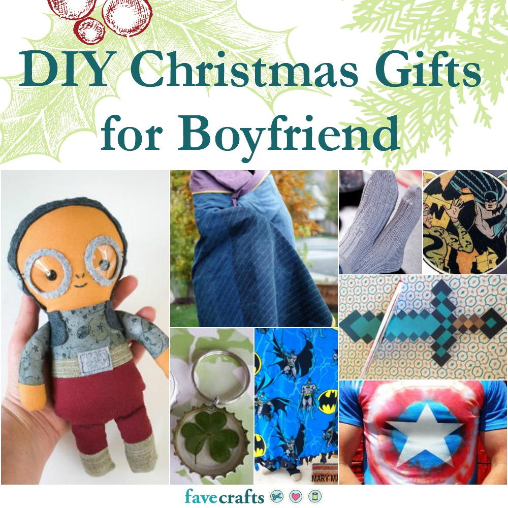 42 DIY Christmas Gifts for Boyfriend | FaveCrafts.com