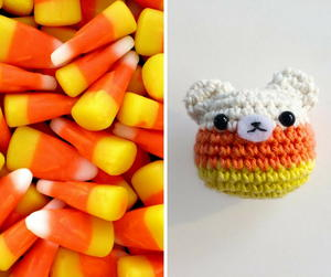 Candy Corn Bear