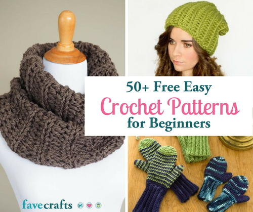 81 Free Easy Crochet Patterns (Plus Help for Beginners) | FaveCrafts com
