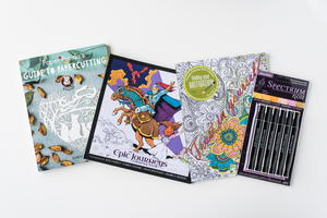 Calming Coloring Books and Spectrum Noir Marker Set Giveaway