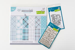 Perfectly Plaid Winter Stamp and Holiday Craft Dies Set Giveaway