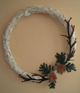 Musical Christmas Wreath