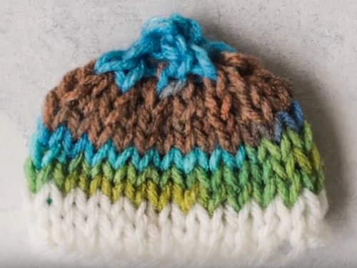3415210034a Seven Dwarves Beanie. This simple knit baby hat pattern ...