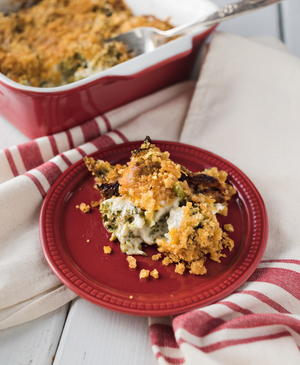 Vintage Broccoli Cheese Casserole