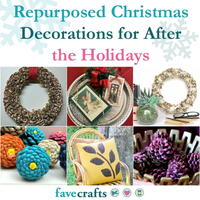14 Repurposed Christmas Decorations for After the Holidays