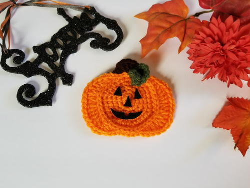 Jack-O'-Lantern Applique