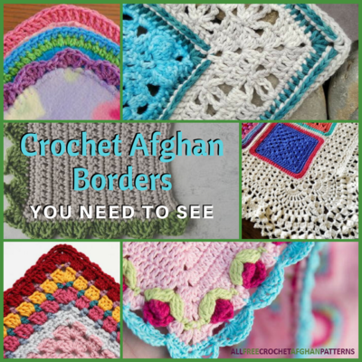 DIY Crochet Elephant Edging Border | UsefulDIY.com | 400x400