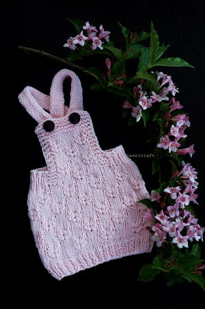 Little Gardener's Pinafore Dress