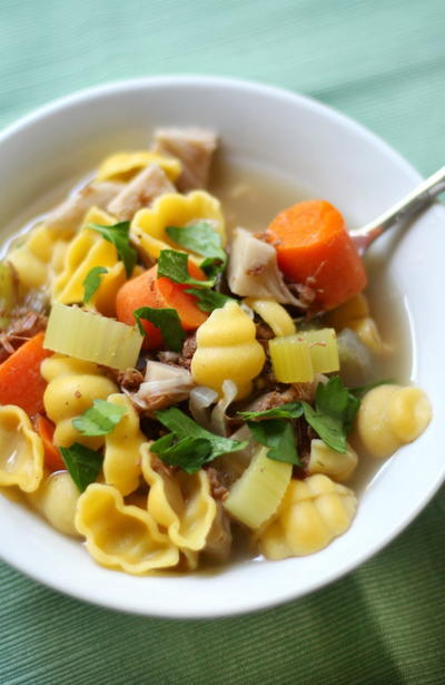 Vegan and Gluten-Free Chicken Noodle Soup