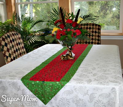 One Hour Table Runner Tutorial