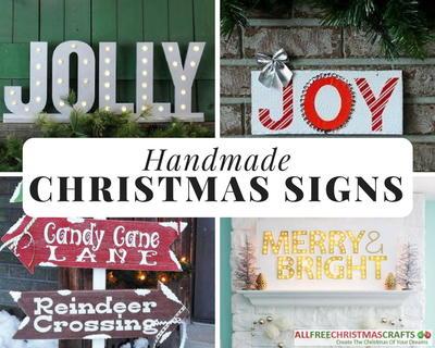 Christmas Signs.19 Creative Handmade Christmas Signs