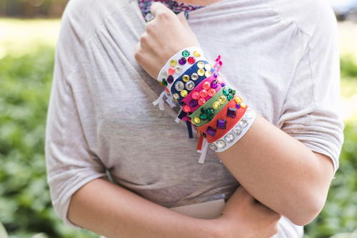 T-Shirt DIY Friendship Bracelets