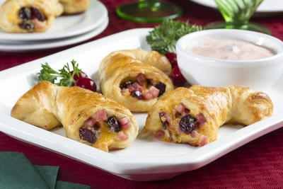 Ham and Cheese Cornucopias