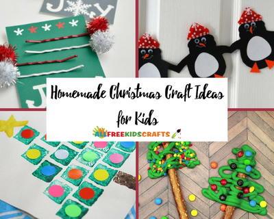 60 homemade christmas craft ideas for kids allfreekidscrafts com homemade christmas craft ideas for kids
