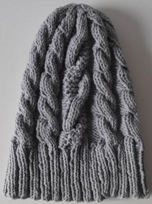 Grey Days Beanie