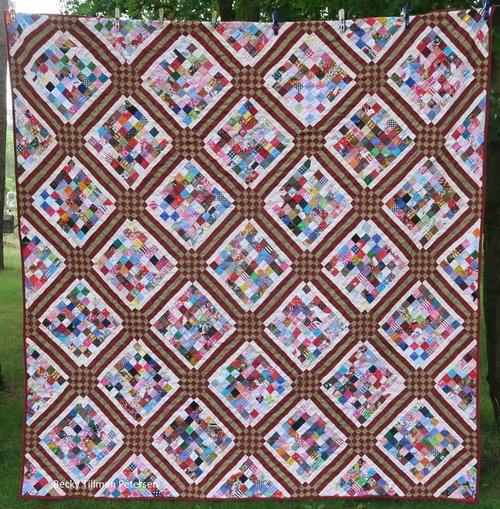 Ice Cube Prisms Quilt Pattern