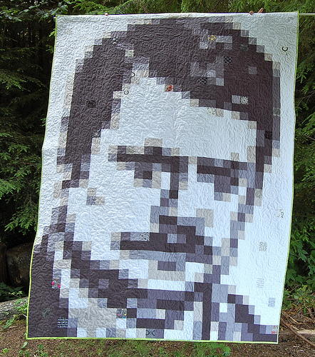 Ron Swanson Inspired Quilt Tutorial
