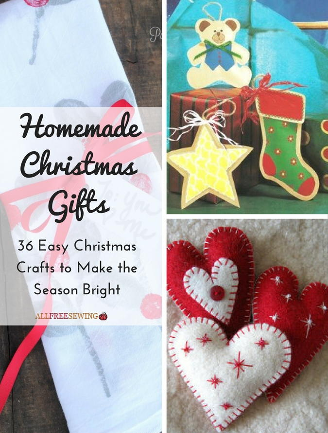 Homemade Christmas Gifts 36 Easy Christmas Crafts To Make