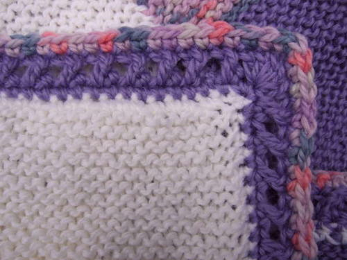 Crossed Double Crochet Border Tutorial